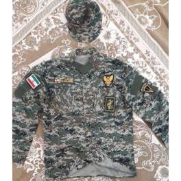 Iran Holy Shrine Defenders Revolutionary Guards ( IRG, IRGC ) Military Forces in Syria Complete Uniform