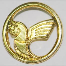IranAir ( HOMA ) Iran Official Airlines Golden Color Lapel Pin